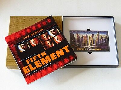 The Fifth Element Special Collectors Edition Box Set. 240 Page Book and VHS. New