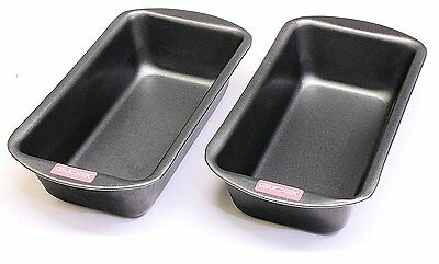 2lb Loaf Tin Twinpack, 2lb (900g) Capacity, British Made with GlideX ® TM Non St