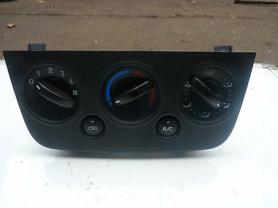 ford fiesta m6 facelift 2005-2008 heater and fan control panel with aircon