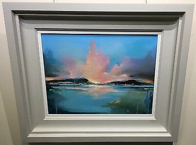 Morning Brilliance by Anna Gammans, Original Contemporary Painting, Seascape