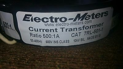 electro meters current transformer cat 7rl-501-1     6pc for 1 price