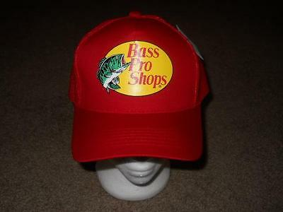 Bass Pro Shops (Red) Snapback Youth Hat Cap New!!!