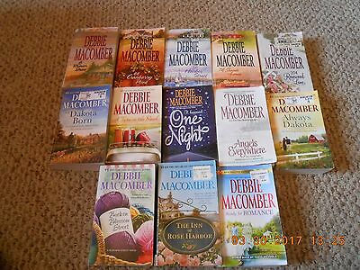 Lot of 13 Paperback Books By Debbie Macomber