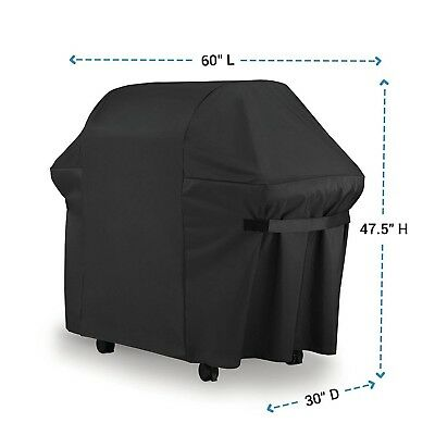 Weber Outdoor BBQ Gas Grill Cover 7107 Heavy Duty Waterproof Weather Resistant
