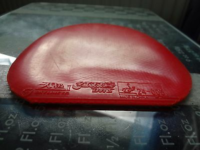 used table tennis rubber DHS NEO SKYLINE 2    W148mm x H153mm