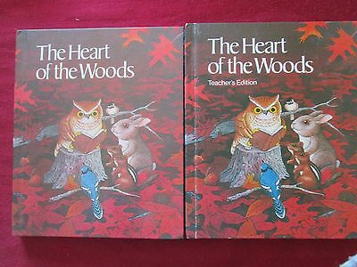 The Heart of the Woods Student & Teacher's Edition HC Books 1982 Like New FREE