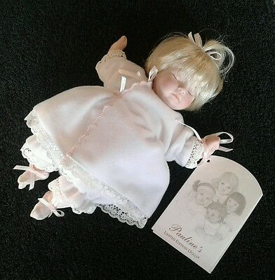 Pauline's Limited Edition Doll - Patsy - No.1023 of 1800 - Perfect Condition