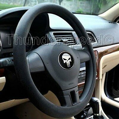 Color Black Universal Car Steering Wheel Cover Shell Texture Silicone Skidproof