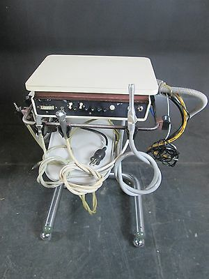 Adec 2521 Dental Delivery Cart System w/ 4 5-Hole Handpiece Hose Connections