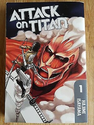 Attack On Titan Manga Vol 1