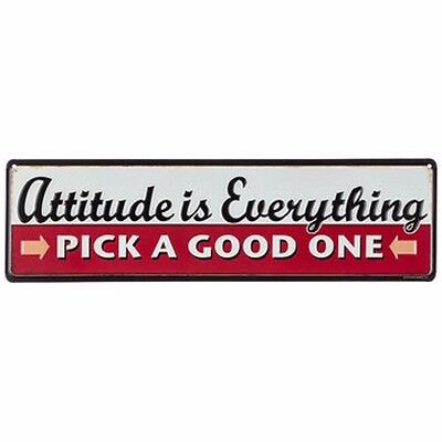 ATTITUDE is EVERYTHING Pick a Good One Metal Shop Garage Mechanic Man Cave Dad