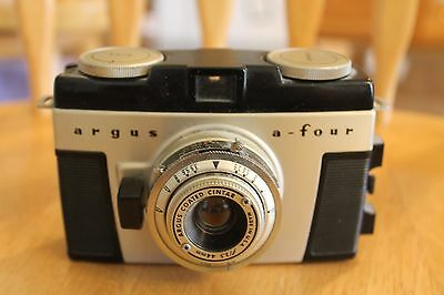 Argus A-four f/3.5 44mm camera vintage