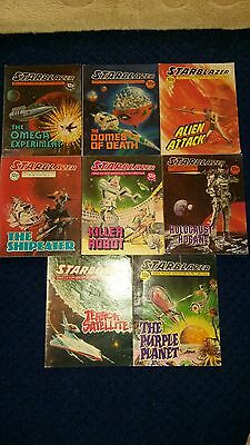 Starblazer comics no's 1, 2, 3, 5, 6, 7, 10, 11 in good condition