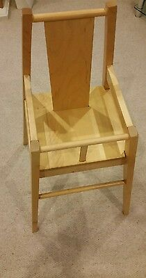 Ikea Wooden High Chair V. Good Condition. * No Reserve * Low Start Price *