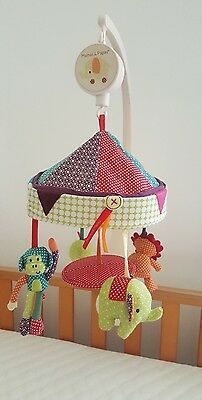 Mamas And Papas Jamboree Musical Cot Mobile in Excellent condition