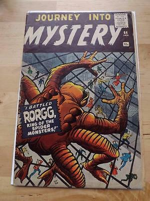 Journey Into Mystery #64 Vg   Big Pics Strict Grading Combined Postage