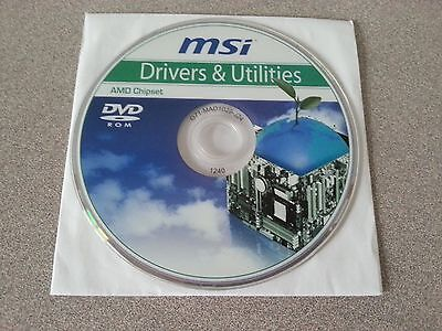 """NEW"" MSI 790X G45 Motherboard Drivers Installation DVD"