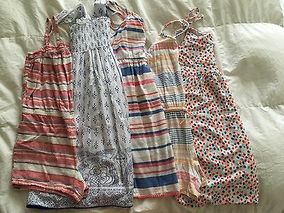 Girls Bundled Lot of 5~Old Navy~3 Dresses 2 Rompers Sizes 14