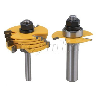 Cemented Carbide 3 wing slot cutters Router Bit Set of 3