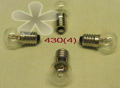 Lionel, Colber, Marx Bulb, # 430 for many applications (4) NEW