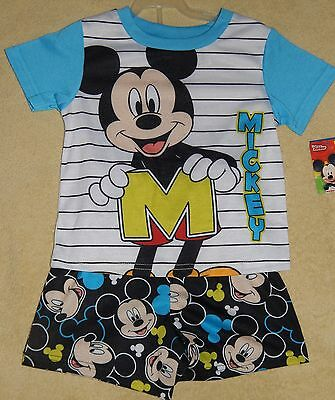 *NWT* Disney MICKEY MOUSE 2 pc. PAJAMAS sz. 2T, 3T & 4T ~ Adorable! Must See!
