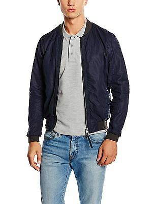 (TG. Medium) Redskins MASTER ATLAS-impermeable Uomo    Blu (Navy Blue) (L8l)