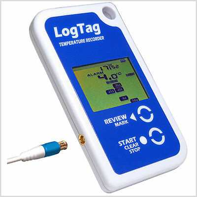 Logtag Temperature Data Logger with Display & External Probe