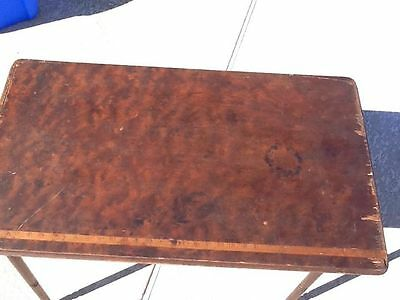 Antique Folding Sewing Table from Late 1800's