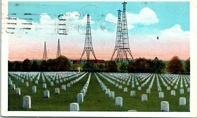 Lot of 3 Arlington VA Postcards Virginia Wireless Towers Unknown Soldier Etc