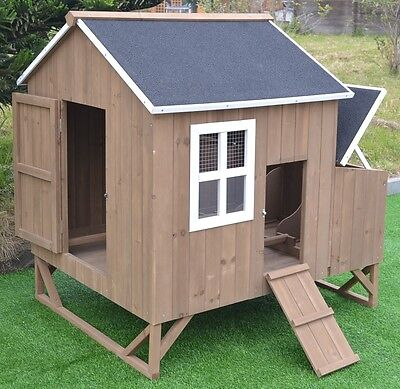 Chicken Coop Nest Box Backyard Poultry Hen House Huge 8 Bantams Extra Large