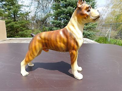 Gorgeous Colored Brindle Boxer Dog Figurine