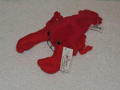 """The Puppet Company Lobster Finger Puppet with TAG 8"""" Plush Stuffed"""