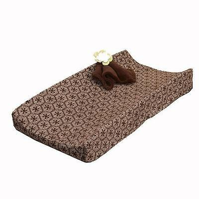 Cocalo 6769 Brown Sherpa Printed Changing Pad Cover BHFO