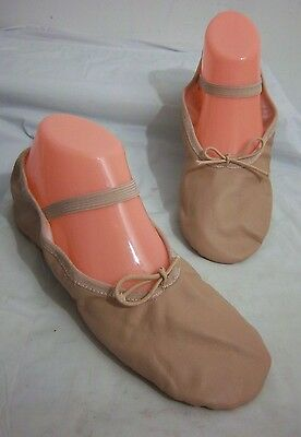 Leo's Ballet Dance Dancewear Hip Hop Jazz Shoes Pink Leather Womens Size 6.5 M