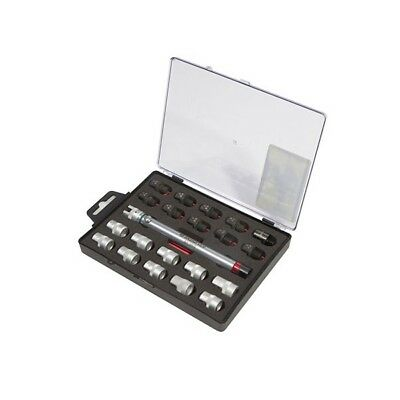 Bikeservice 22Pc Spoke Torque Wrench Set