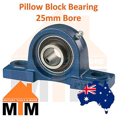 Pillow Block Bearing Self Aligning Bottom Foot Mount Housing 25mm Bore