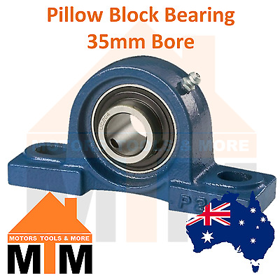 Pillow Block Bearing Self Aligning Bottom Foot Mount Housing 35mm Bore
