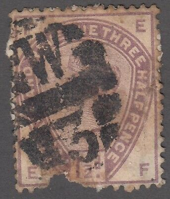 Great Britain SG #188  1 1/2d  lilac   filler