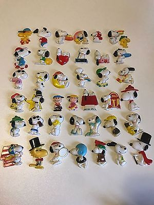 Old Vintage Peanuts & Snoopy Magnets Collection 40 Pieces Rare & Collectable!