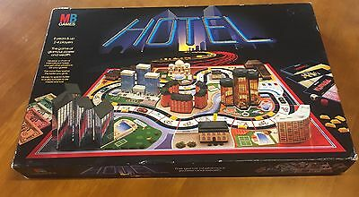 Hotel Board Game Vintage Rare, Complete Very Good Condition