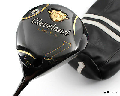 Cleveland Classic Xl 7.5º Driver Graphite Tour X-Stiff +Cover +New Grip #d5576