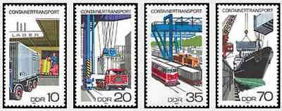 Timbres Transports RDA Allemagne 1995/8 ** lot 20648