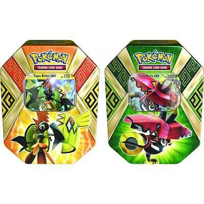 POKEMON SUN & MOON * Island Guardian Tin Bundle of 2