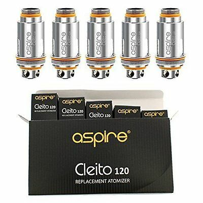 Aspire CLEITO 120 0.16 Ω REPLACEMENT 5 COILS (1 PACK) FOR CLEITO 120 TANK