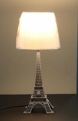 New  Eiffel Tower Table Decoration Lamp  White  JYU93SA