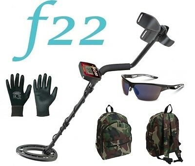 Metal Detector Fisher F22 mount plate 9″ New+BACKPACK PADDED+GLASSES + GLOVES