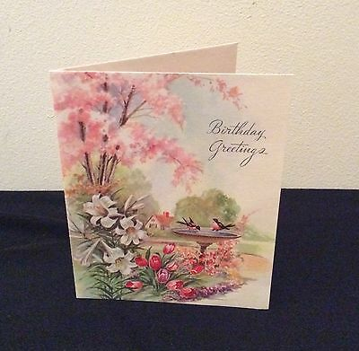 Vintage Birthday Card - c1950 - Unused and in great cond.