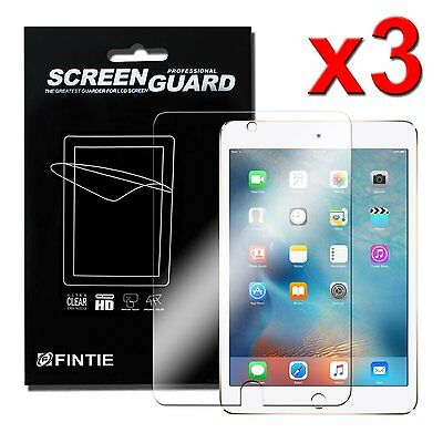 """3 x Clear Anti-Scratch Screen Protector For iPad 6th 9.7"""" 2018 2017 iPad Pro Air"""