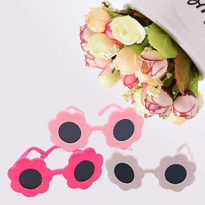 Fashion Cute Floral Shape Sungasses For 18 Inch Doll Girl Kids Toy Wear