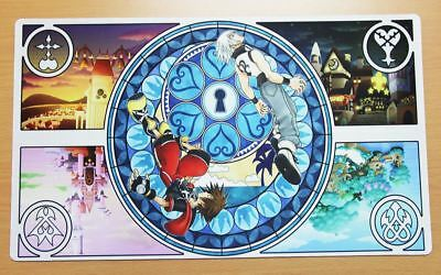 A360 FREE MAT BAG Kingdom Hearts Mouse Pad Custom Playmat Yugioh MTG Vanguard